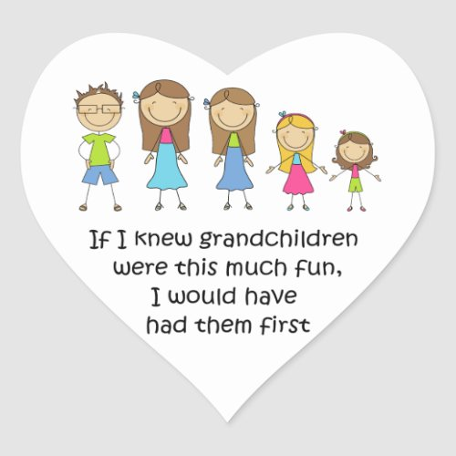 Grandchildren Stickers