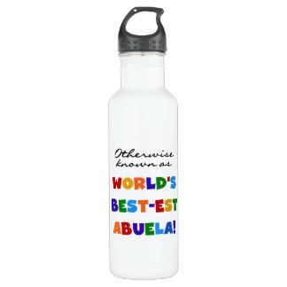 grandcolorsabuela stainless steel water bottle