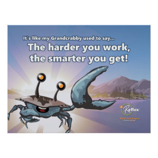 Grandcrabby Reflex Poster