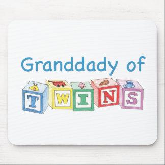 Granddady of Twins Blocks Mouse Pad