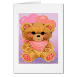 Granddaughter 1st Valentine's Day - Greeting Card