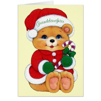Granddaughter Card