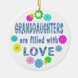 Granddaughter Christmas Ornament