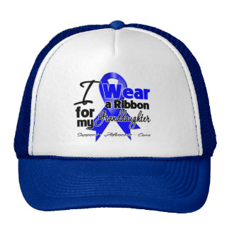 Granddaughter - Colon Cancer Ribbon Mesh Hats