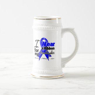 Granddaughter - Colon Cancer Ribbon Mugs