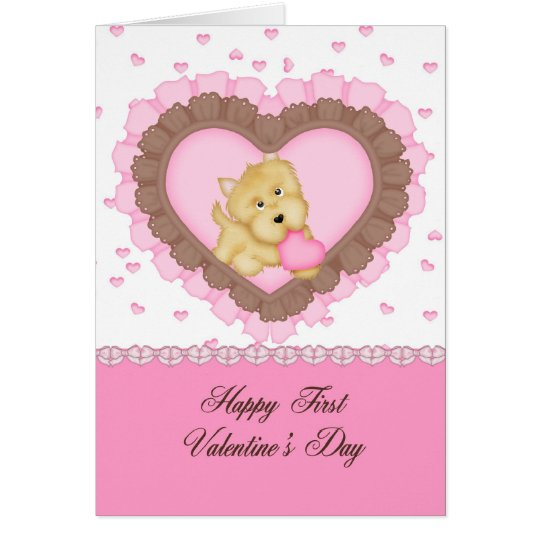 Granddaughter First Valentine Card – Granddaughter Valentine Card