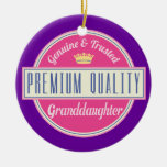 Granddaughter (Funny) Gift Christmas Tree Ornament