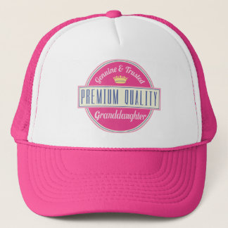 Granddaughter (Funny) Gift Trucker Hat