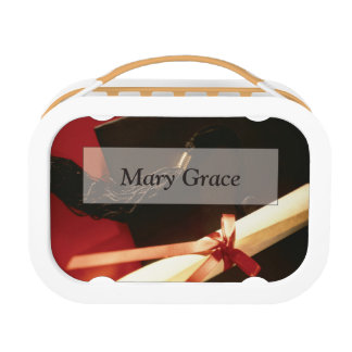 Granddaughter Graduation Wishes, Horizontal Gift Lunch Box