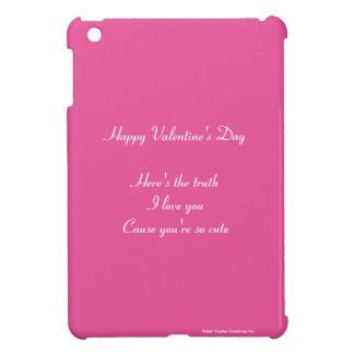 Granddaughter grandson valentine's day iPad mini case