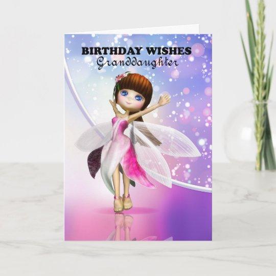Purple Cat Granddaughter Birthday Card Zazzlecom in 2019