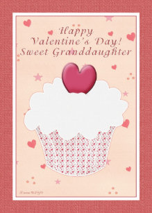 Happy Valentines Day Granddaughter Gifts On Zazzle