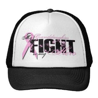 Granddaughter Hero - Fight Breast Cancer Trucker Hat