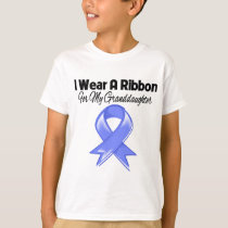Granddaughter - I Wear Periwinkle Ribbon T-Shirt