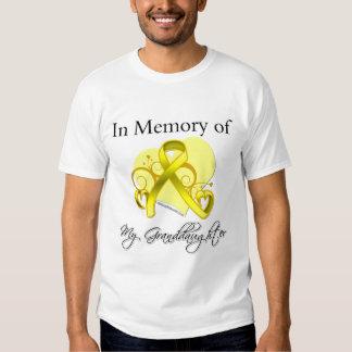 Granddaughter - In Memory of Military Tribute Shirt