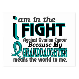 Granddaughter Means World To Me Ovarian Cancer Postcard