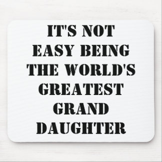 Granddaughter Mouse Pad