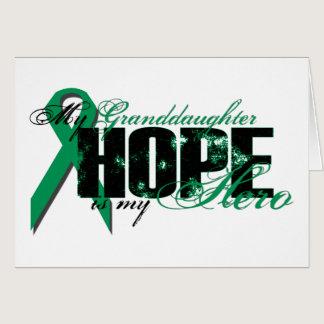 Granddaughter My Hero - Kidney Cancer Hope Card