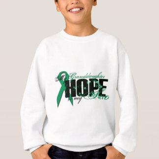 Granddaughter My Hero - Kidney Cancer Hope Sweatshirt