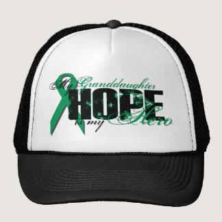 Granddaughter My Hero - Kidney Cancer Hope Trucker Hat