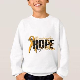 Granddaughter My Hero - Leukemia Hope Sweatshirt