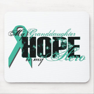 Granddaughter My Hero - Ovarian Hope Mouse Pad
