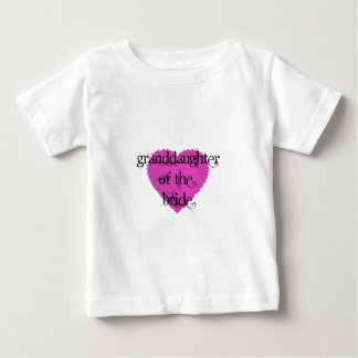 Granddaughter of the Bride Baby T-Shirt
