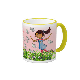 Granddaughter personalized name girls mug