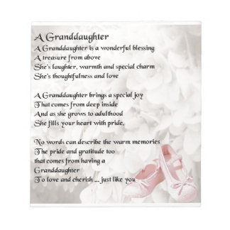 Granddaughter Wedding Poem Wedding Ideas