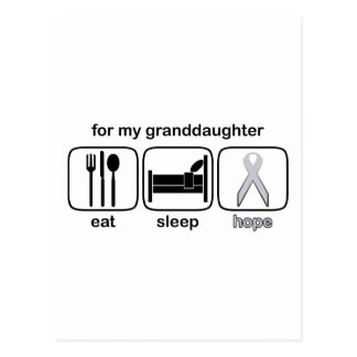 granddaughter postcard
