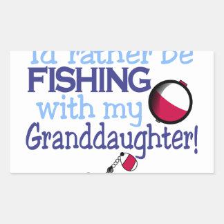 Granddaughter Rectangular Sticker