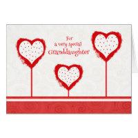 Granddaughter Valentine's Day Card