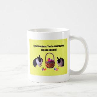 Granddaughter, You're somebunny eggstra special! Coffee Mug