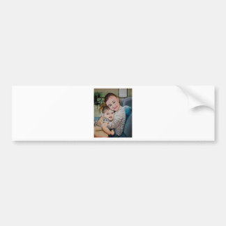 GRANDDAUGHTERS ADDY AND AUDREY BUMPER STICKER