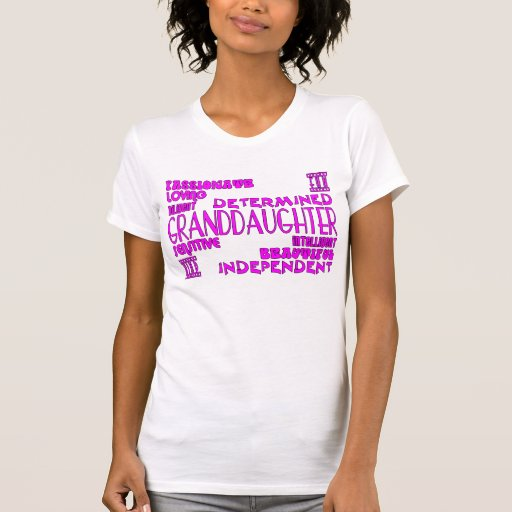 Granddaughters Birthday Party Christmas Qualities Tees