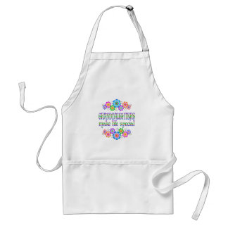 Granddaughters Make Life Special Adult Apron