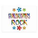 GRANDDAUGHTERS ROCK POST CARDS