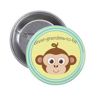 Grande-abuela-a-es el botón pin redondo de 2 pulgadas