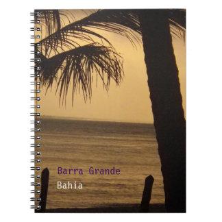 Grande Bahía cuaderno de Barra