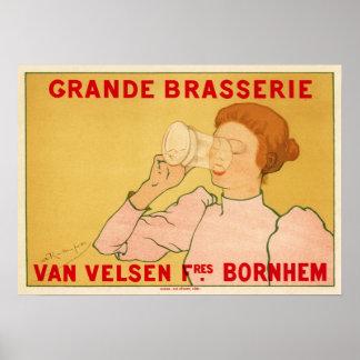Grande Brasserie Van Velsen Poster