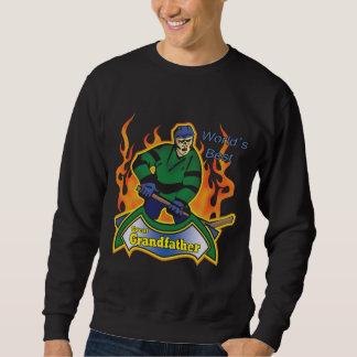 Grande - camisetas y regalos de abuelo del hockey sudadera con capucha