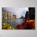 grande canal Venecia Posters