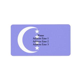 Grande Comore, Colombia Political flag Address Label