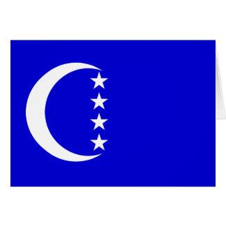 Grande Comore, Comoros Greeting Card