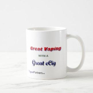 Grande con las tazas de café de Vaping (estilos y