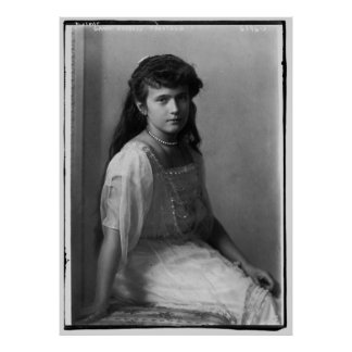 Grande duquesa Anastasia Nikolaevna de Rusia Poster