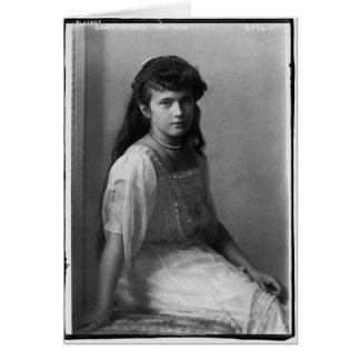 Grande duquesa Anastasia Nikolaevna de Rusia Felicitación