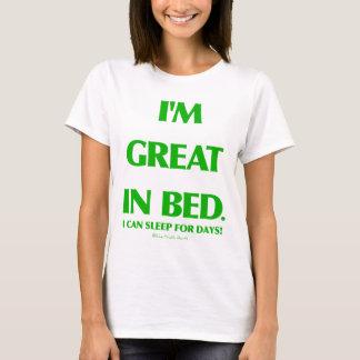 Grande en cama playera