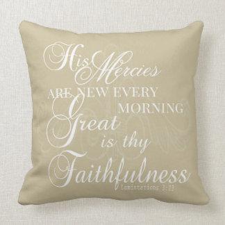 Grande es Thy almohada de la fidelidad