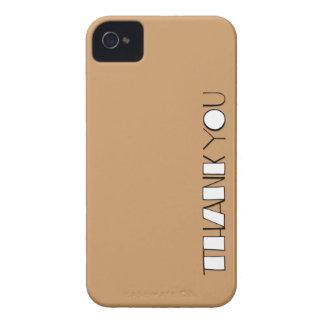 Grande gracias el iPhone blanco 4 4S de la casamat iPhone 4 Case-Mate Protectores